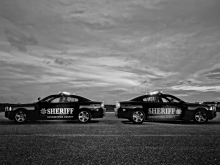 Two Sheriffs Office patrol Vehicle